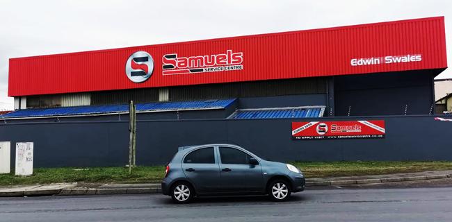 Samuels-Service-Centre-building