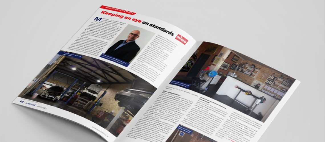 MIWA featured as Association of the Month in the April 2021 edition of the Automobil magazine