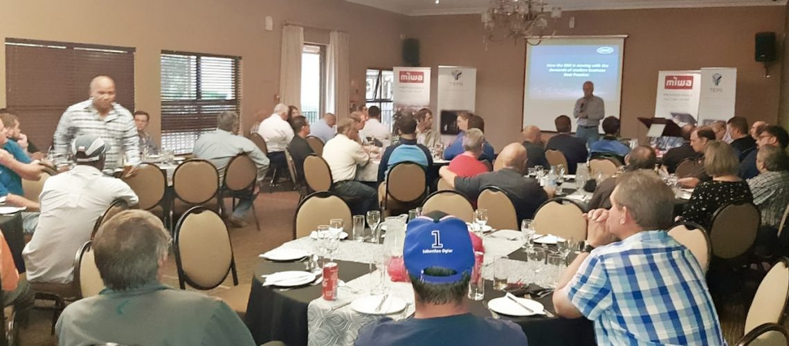 The Bloemfontein Road show was held at the Protea Hotel Willow Lake.