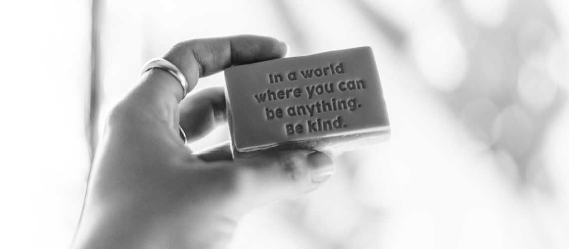 In a world where you can be anything, be kind - photo by Kelli McClintock on Unsplash